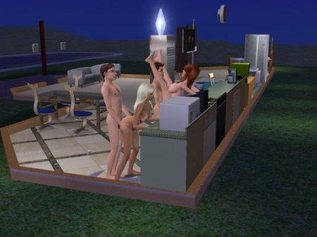 Секс в sims 2 эммануэль