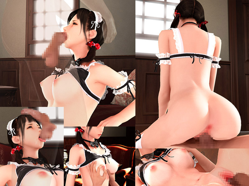 maid porn game