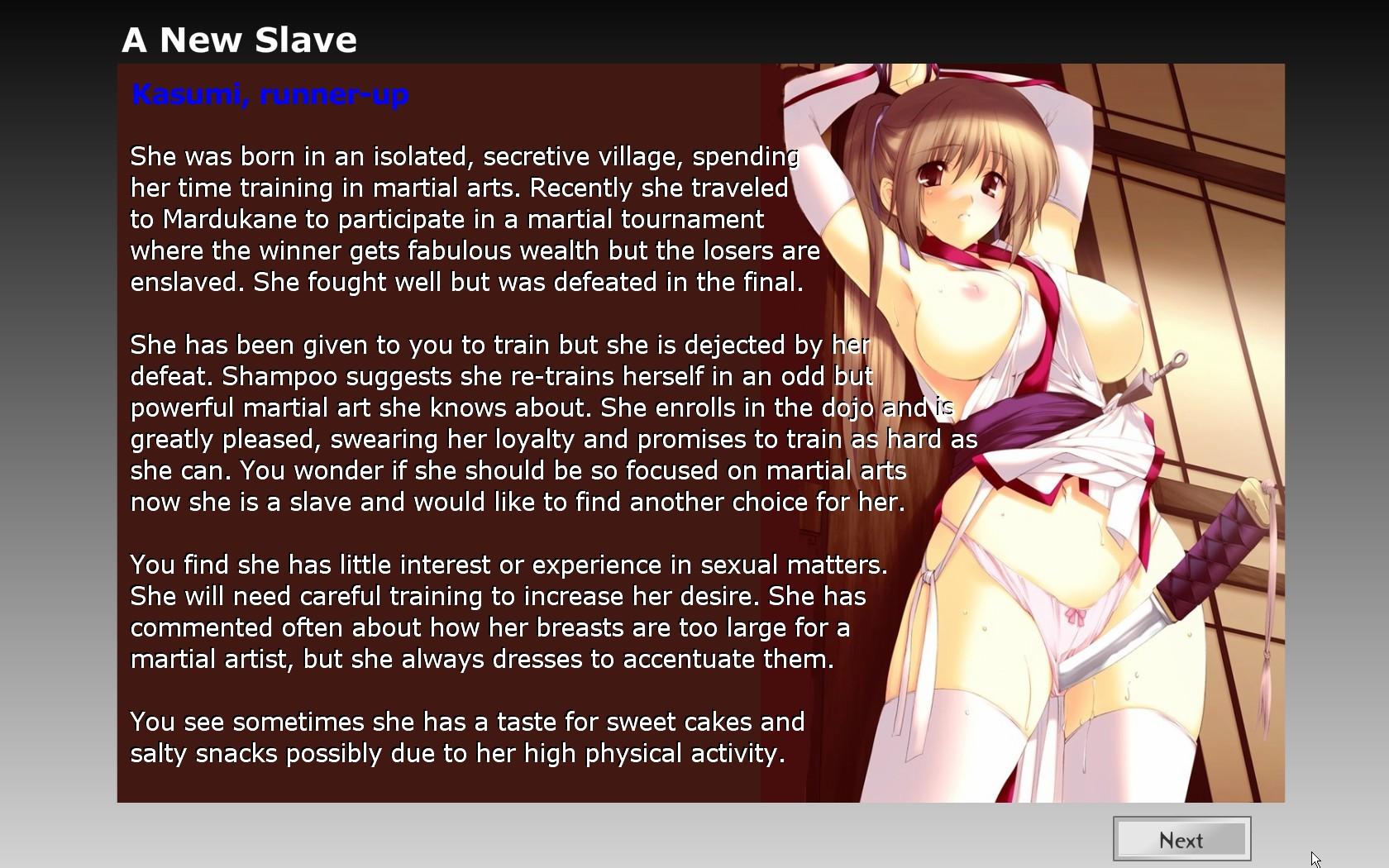 slave maker game