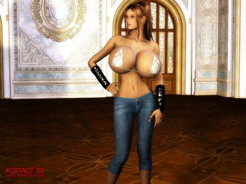 SiteRip collection Foxtrot3D (3D, big boobs)