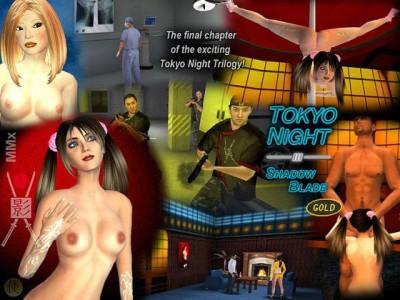 Shadow Blade - Tokyo Night 3 Gold