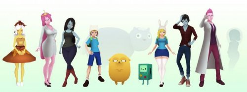 "What if ""Adventure Time"" was a 3D Anime Game"